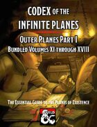 Codex of the Infinite Planes Outer Planes I [BUNDLE]