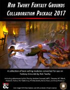 Rob Twohy Fantasy Grounds Collaboration Package 2017 [BUNDLE]
