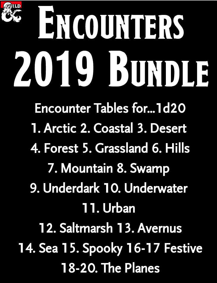 2019 Encounters Bundle