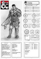 Portrait Character Sheet