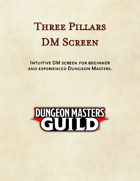 Three Pillars DM Screen