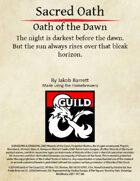 Sacred Oath: Oath of the Dawn