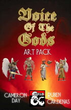 Voice of the Gods Art Pack