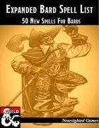Expanded Bard Spell List: 50 New Spells for Bards
