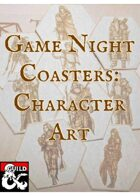 Game Night Coasters: Character Art