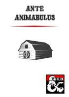 Ante Animabulus