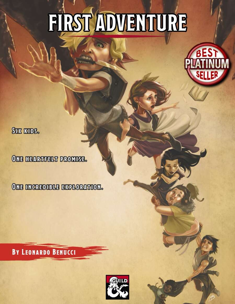 Cover of First Adventure