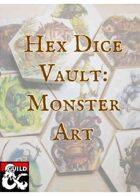 Hex Dice Vaults: Monster Art