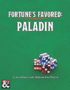 Fortune's Favored: Paladin