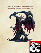 The Sanctum of the Archlich