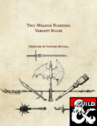 Two-Weapon Fighting Variant Rules