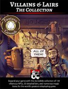 Villains & Lairs (Fantasy Grounds) - The Collection [BUNDLE]