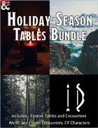 Holiday Season Tables Bundle [BUNDLE]