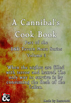 A D&D Tavern Menu - A Cannibal's Cookbook - Volume 3