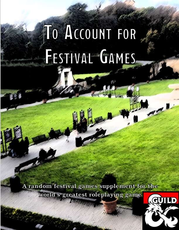 To Account for Festival Games