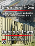 The Courtroom Essentials Casebook: Adventure & Subclass [BUNDLE]
