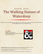 The Walking Statues of Waterdeep