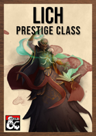 Lich Class by The Dungeon Inn