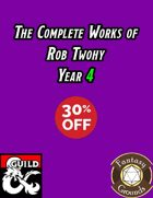 The Complete Works of Rob Twohy Year 4 [BUNDLE]