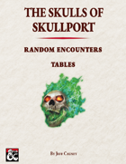 The Skulls of Skullport: Random Encounters Tables