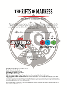 CCC-TRI-21 The Rifts of Madness (Part Six of the Yûlash Series)