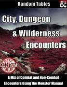 Monster Manual Encounters - City, Dungeon and Wilderness