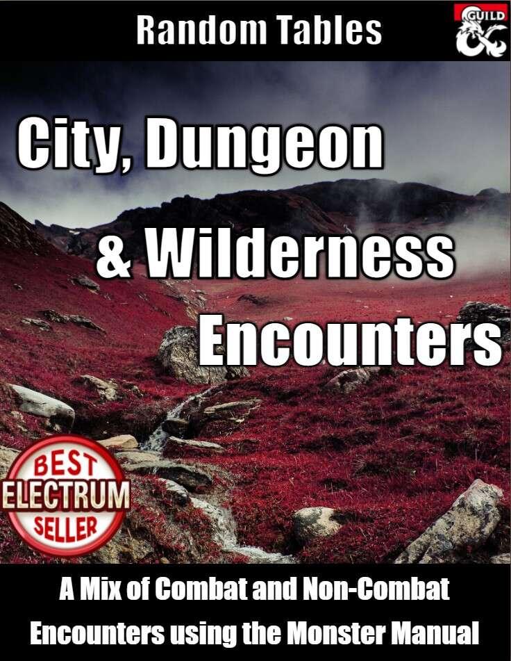 City, Dungeon & Wilderness