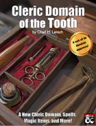 Cleric Domain of the Tooth