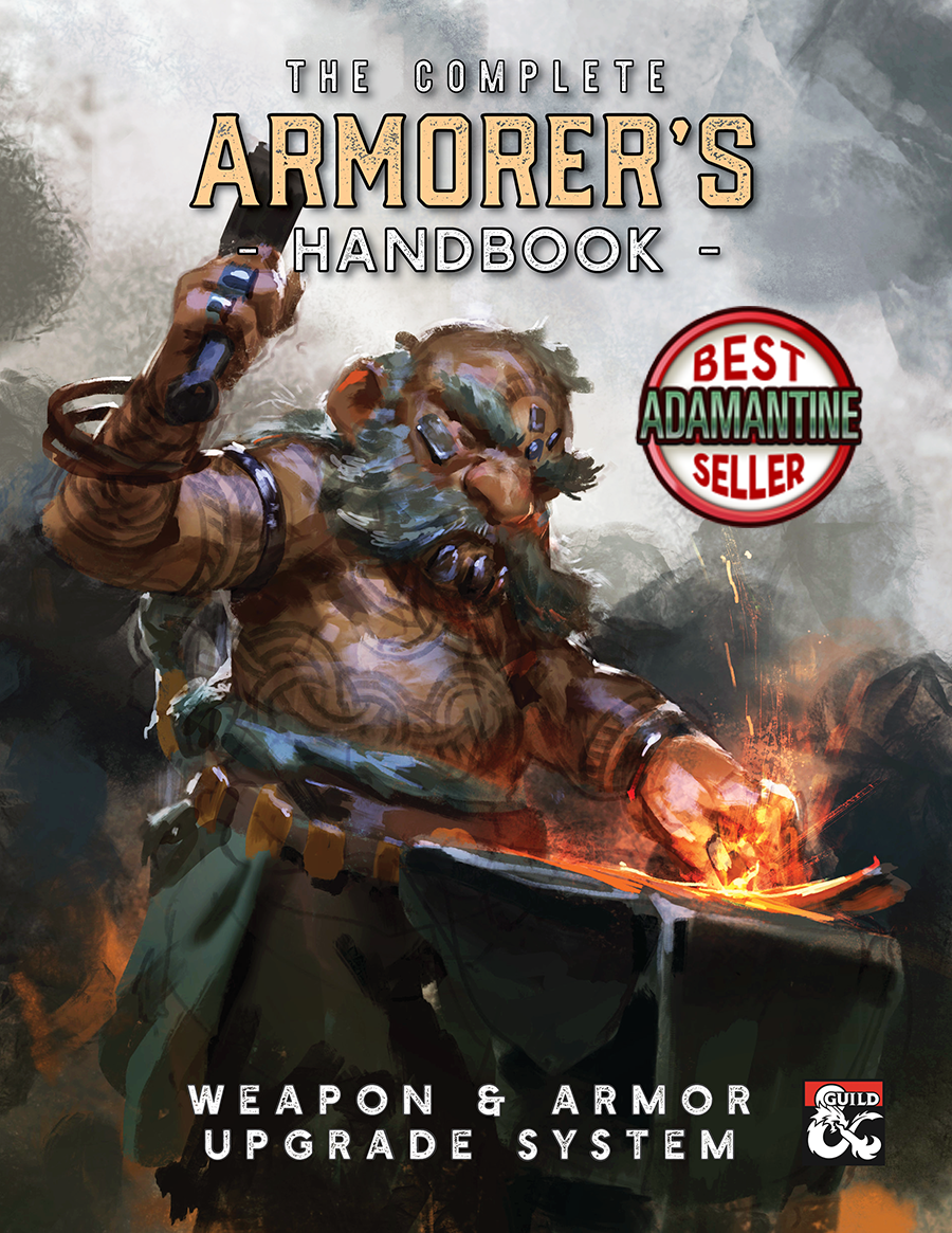 The Armorer's Handbook: Equipment Upgrade and Rune Magic System for 5E