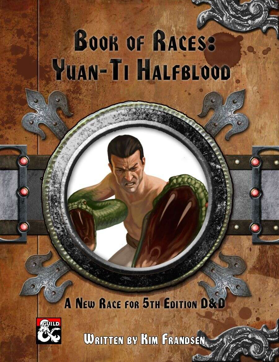 Book of Races: Yuan-ti Halfblood