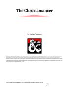 The Chromamancer: an Artificer Subclass