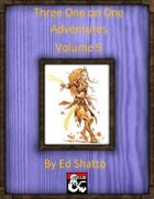 Three One on One Adventures Volume 9