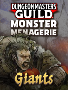 Monster Menagerie: Giants [BUNDLE]