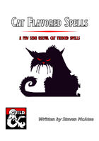 Cat Flavored Spells