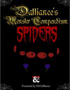 Dalliance's Monster Compendium: Spiders