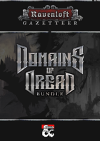 Ravenloft Gazetteer: Making Monsters [BUNDLE]