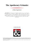 The Apothecary Grimoire