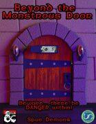 Beyond the Monstrous Door 001: Spur Demons