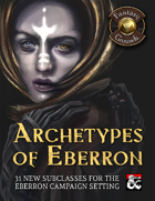 Archetypes of Eberron (Fantasy Grounds)