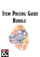 Item Pricing Guides [BUNDLE]