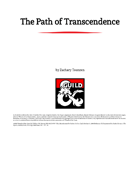The Path of Transcendence: Monks with Artificial Bodies