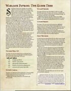 Warlock Patron: The Elder Tree