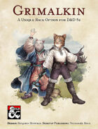 Grimalkin, an Original Race for D&D 5e