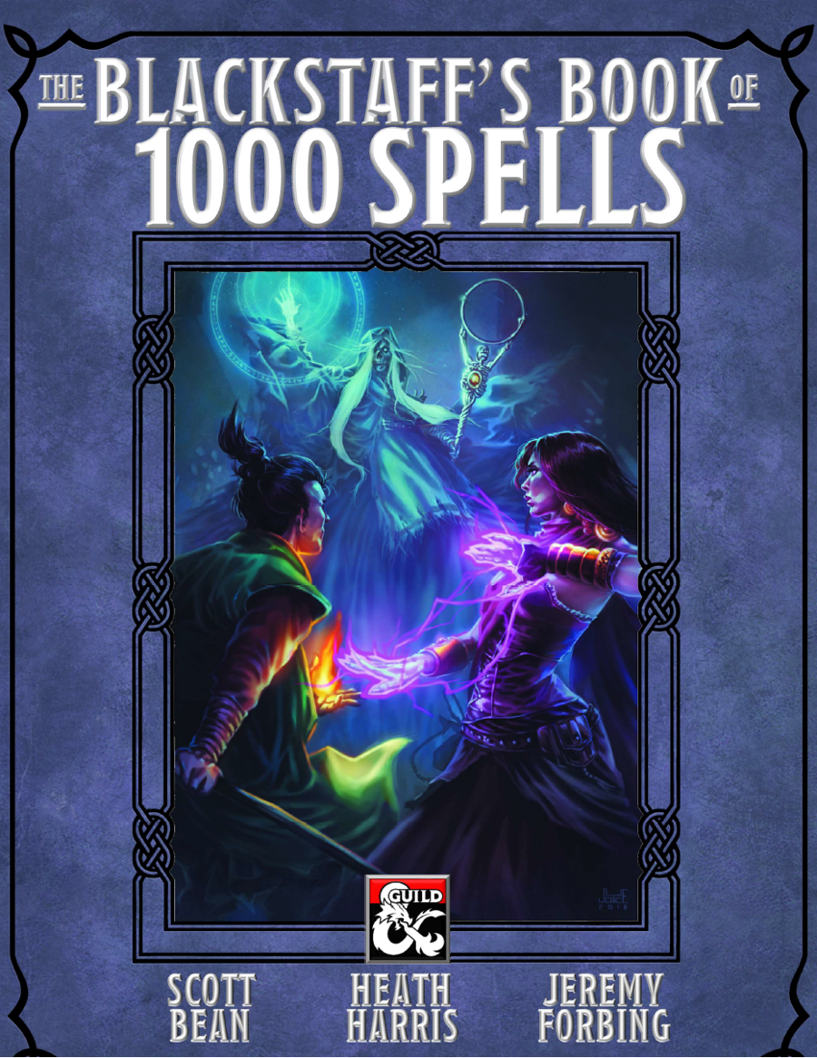 Cover of The Blackstaff's Book of 1000 Spells