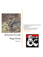 Mage Duels for D&D 5th Edition