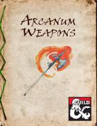 Arcanum Weapons