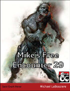 Mike's Free Encounter #29: Sand Gnark Horse