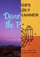 Demons in the Prairie + 100 magic items [BUNDLE]