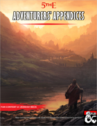 Adventurers' Appendices: New Character Options and More