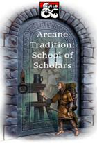 Wizard: School of Scholars